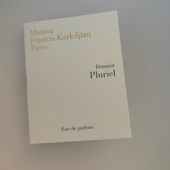 Maison Francis Kurkdjian Feminin Pluriel